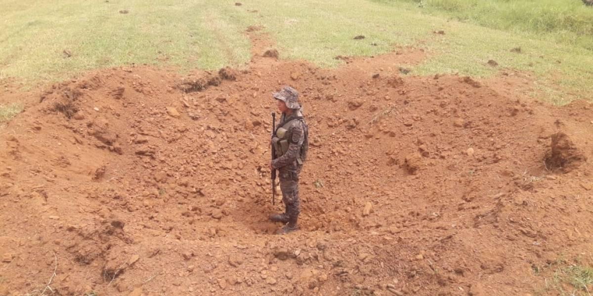 Ejército ha inhabilitado 12 pistas clandestinas en áreas bajo estado de Sitio