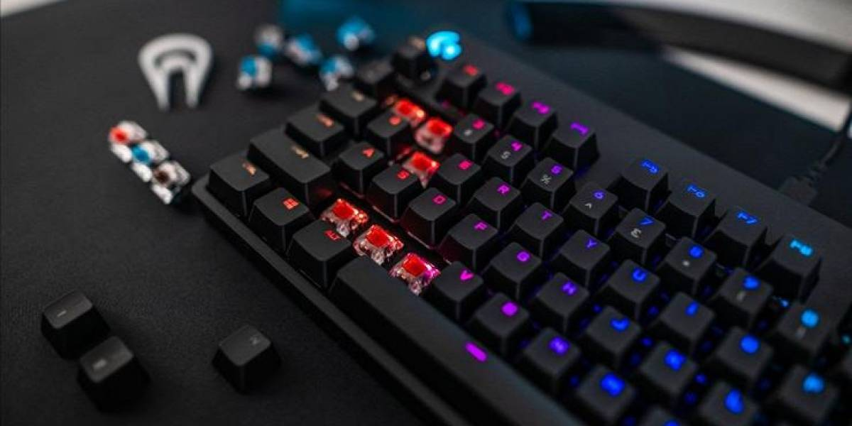 Pro X Gaming Keyboard, el nuevo teclado con piezas intercambiables y removibles