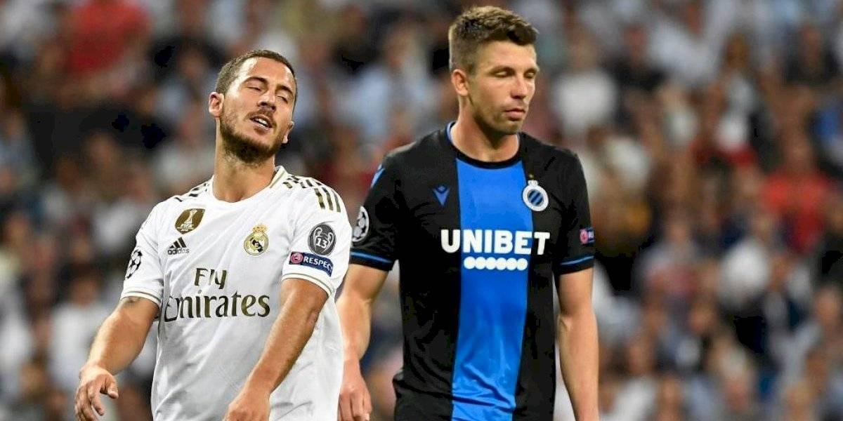 Amargo empate para el Real Madrid contra el Brujas