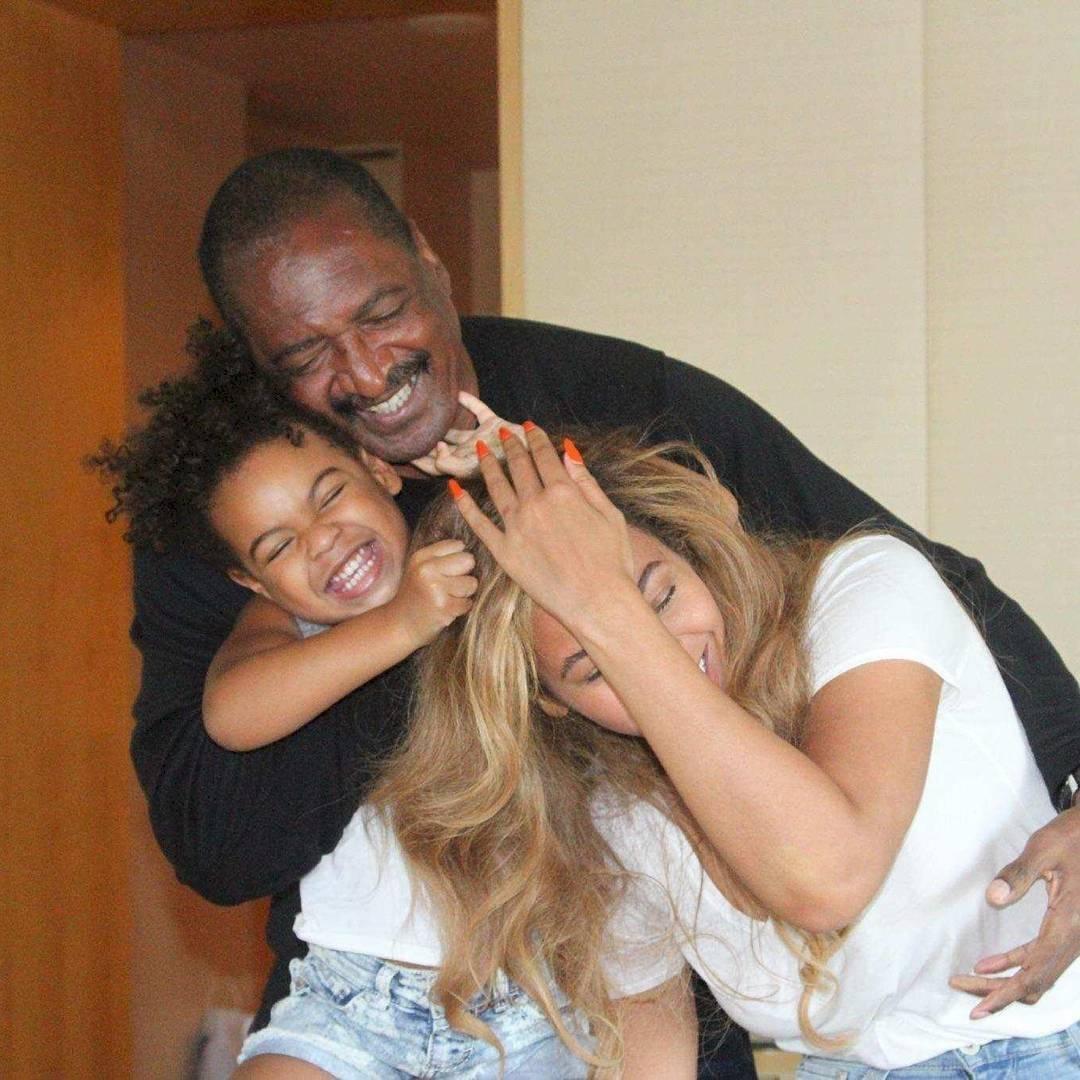 Beyoncé, su papá y su hija