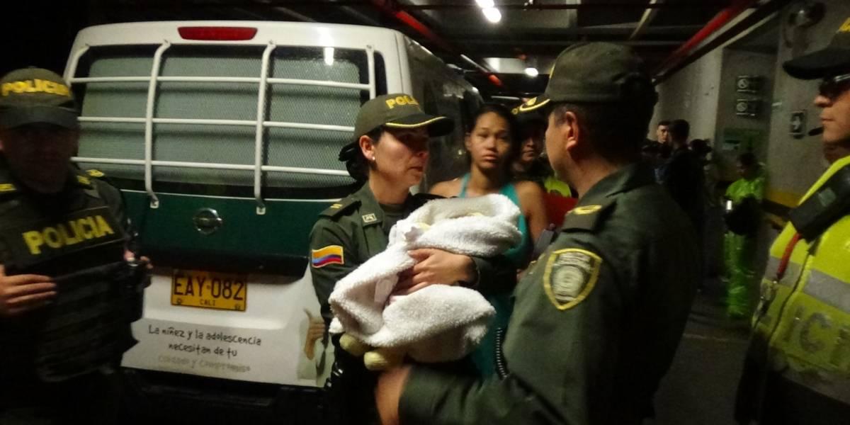 En tiempo récord rescatan a bebé que había sido raptada en Medellín
