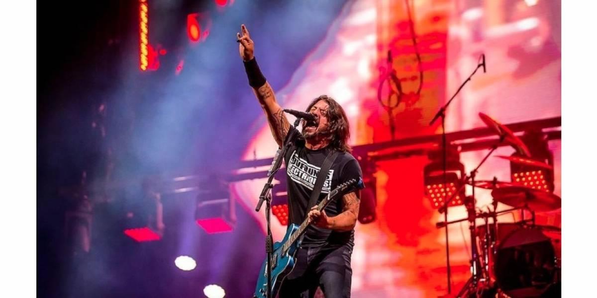 Así podrá seguir en vivo el concierto de Foo Fighters en redes