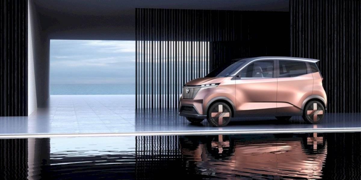 Este es el concepto eléctrico que Nissan presentará en el auto show de Tokio