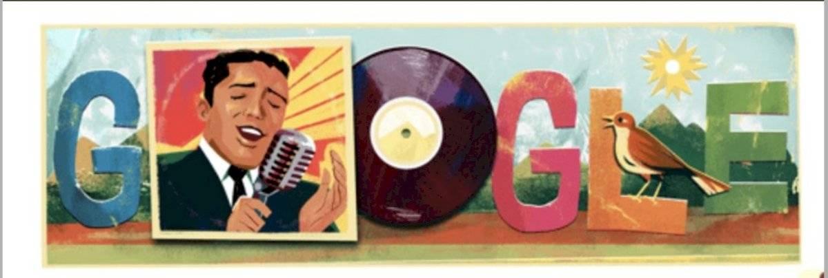 Google doodle de Julio Jaramillo