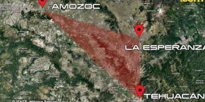 El triangulo rojo, lugar donde ocurren más robos
