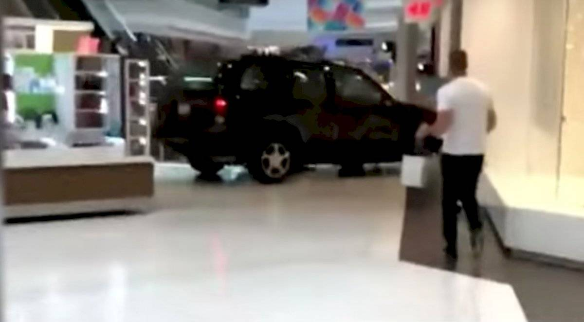 SUV centro comercial