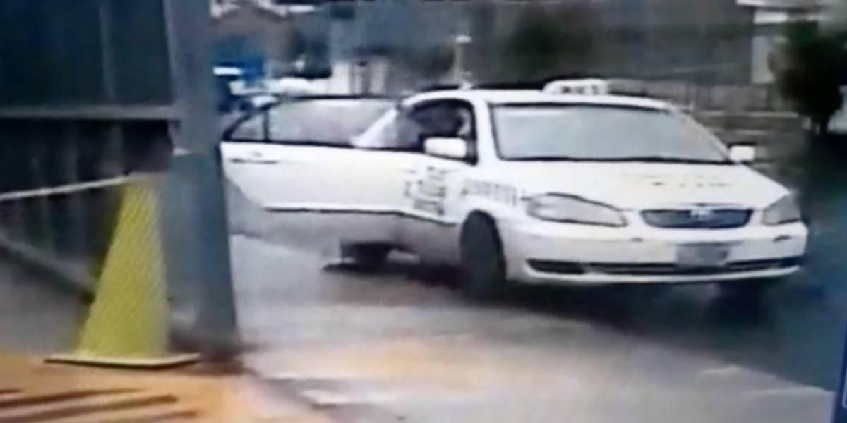 Municipalidad de Mixco advierte sobre taxi blanco cometiendo ilícitos y revela datos del registro