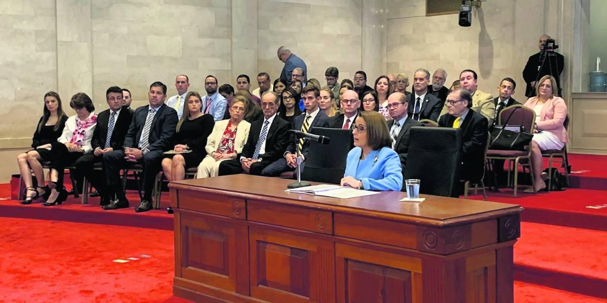 Senado votará hoy sobre nombramiento de Justicia