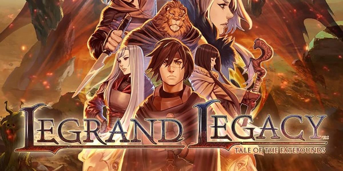 Lançamento do game Legrand Legacy: Tale of the Fatebounds será nesta quinta-feira (03)