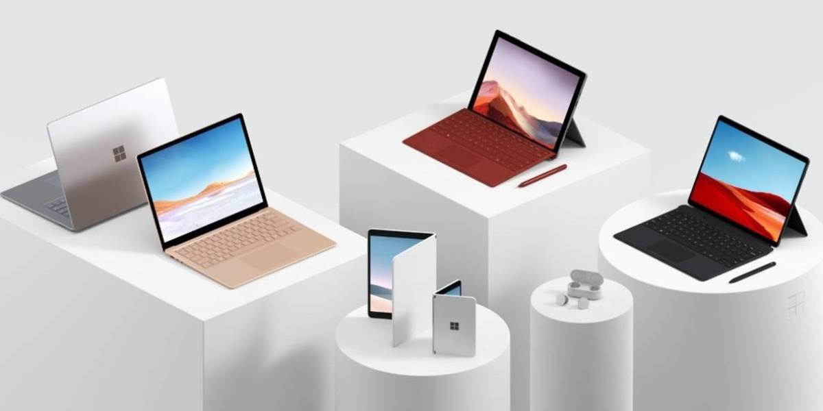 Com celular de tela dupla, Microsoft Surface apresenta nova linha de aparelhos tecnológicos