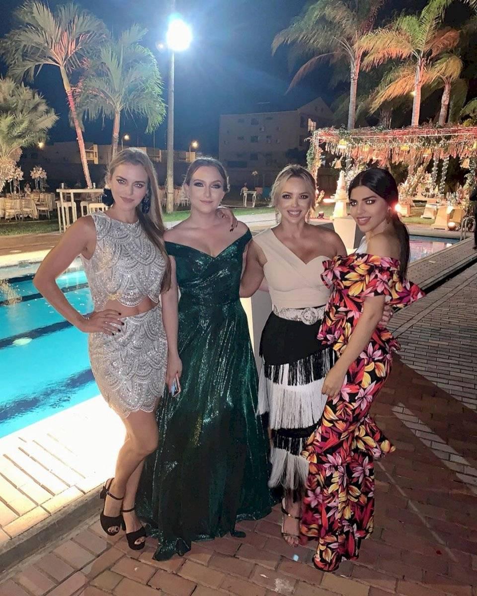 Marcelo Ruarte, Emma Guerrero, Erika Velez.