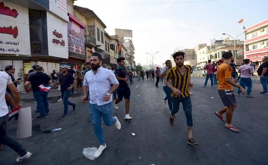 La movilización causo 200 heridos y una baja humana EFE