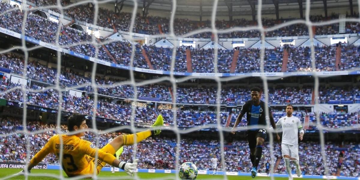 La jornada para el olvido de Thibaut Courtois en la Champions League: Fue reemplazado, pifiado y vomitó en camarines