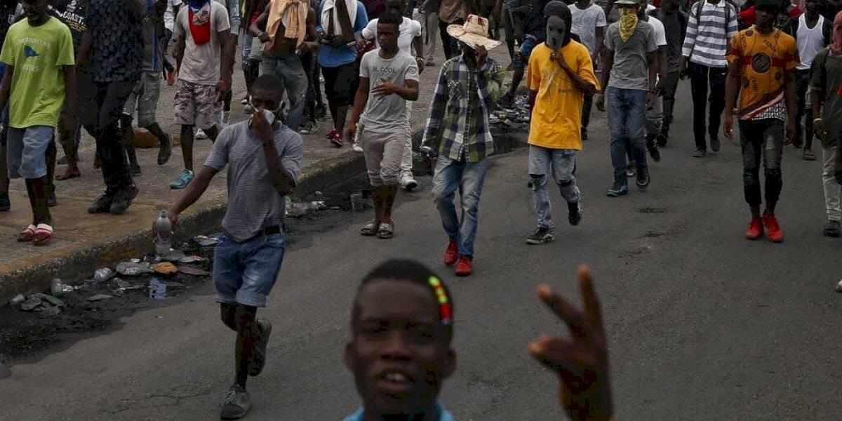 Se estanca el pulso entre presidente y manifestantes en Haití