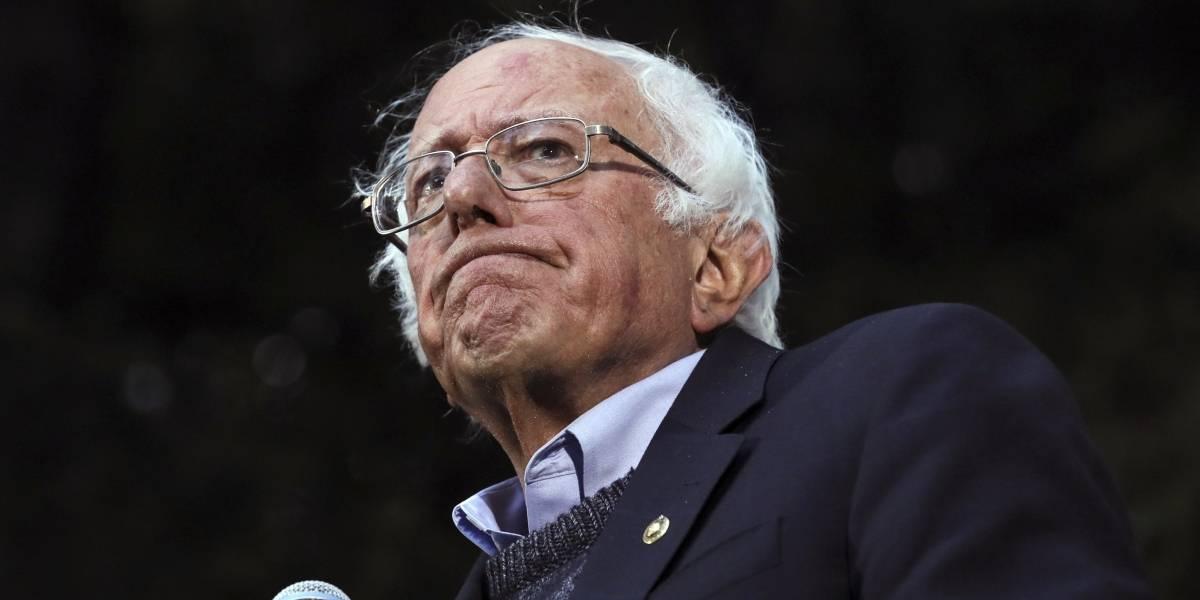 Bernie Sanders cancela campaña presidencial por cirugía del corazón