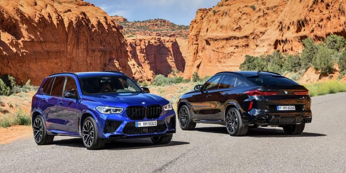 Así de poderosas son las nuevas camionetas BMW: X5 M, X5 M Competition; X6 M y X6 M Competition