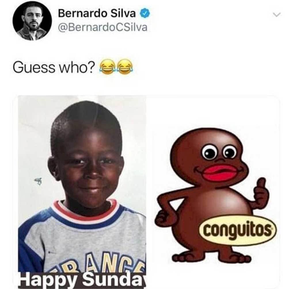 Broma Bernardo Silva a Benjamín Mendy
