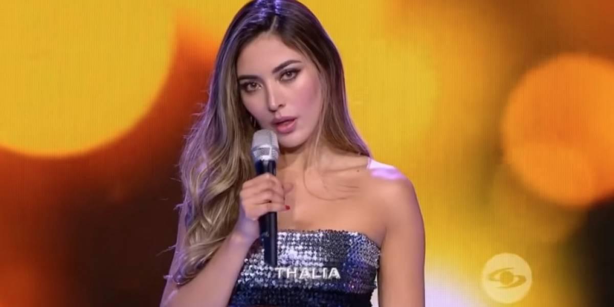 "Atacan a Thalía de 'Yo me llamo' por ""sobornar a jurados y televidentes"" publicando foto sin ropa"