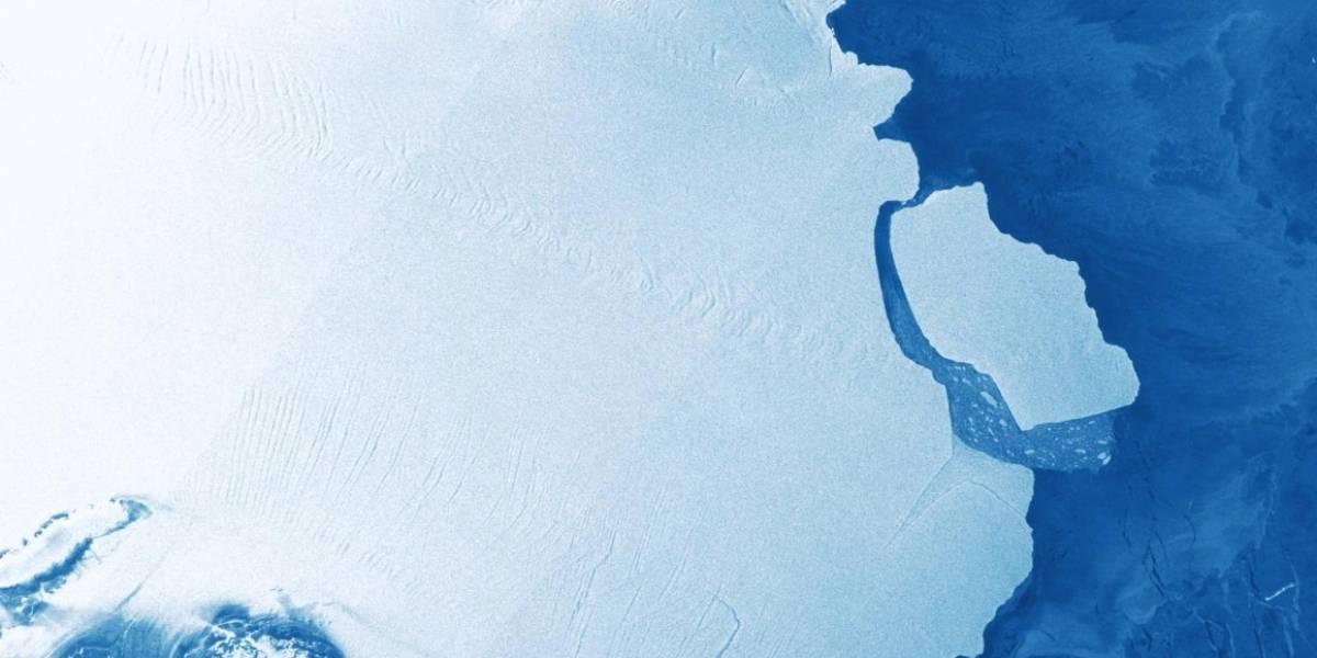Así es D28: el gigantesco iceberg que se desprendió de la Antártica que sorprende pero no preocupa a la comunidad científica