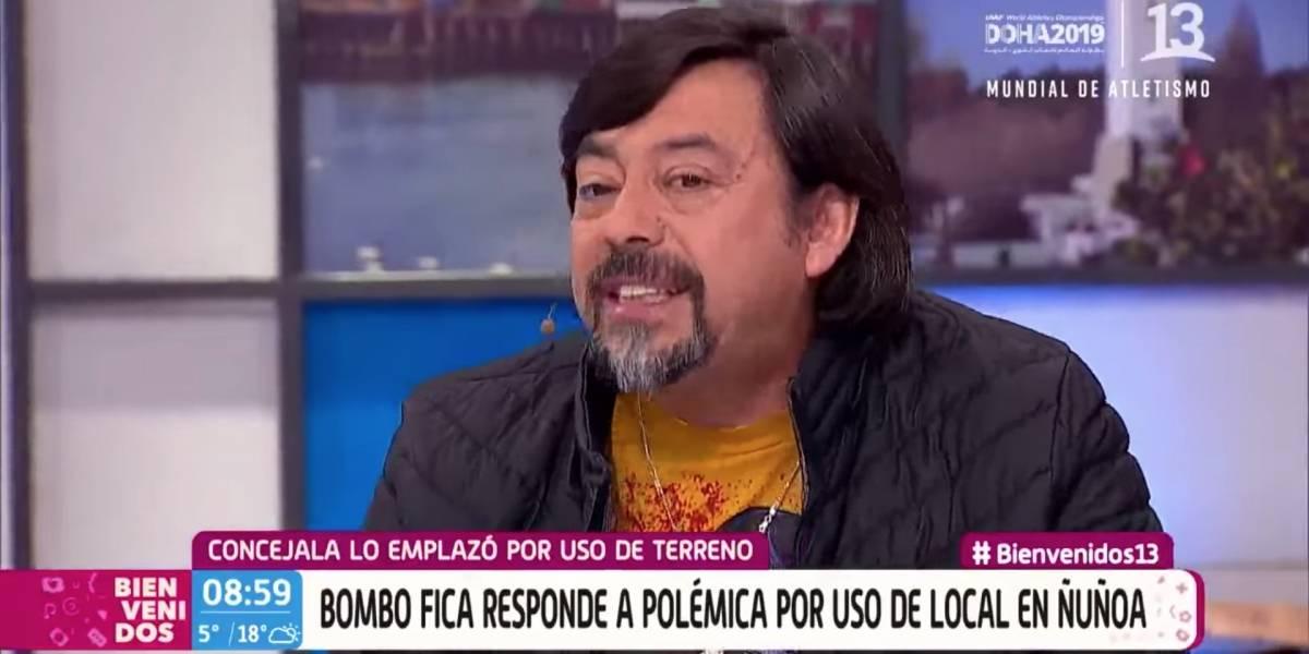La criticada actitud de Bombo Fica tras ser emplazado por el uso de un terreno prestado por el alcalde de Nuñoa