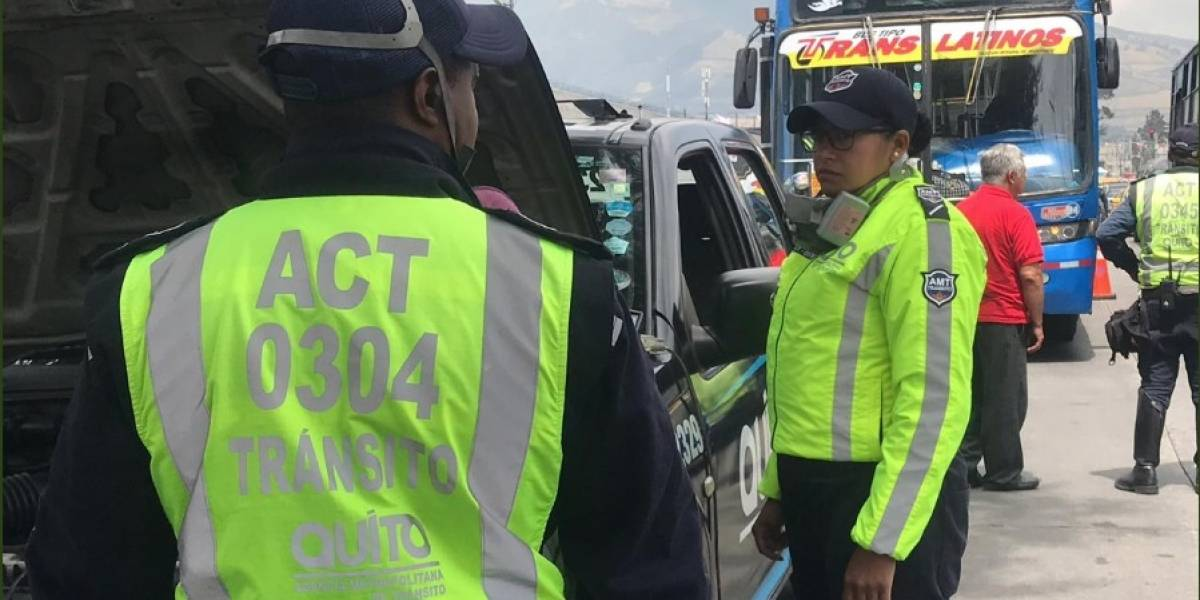 AMT realizó controles sin aviso a buses urbanos de Quito