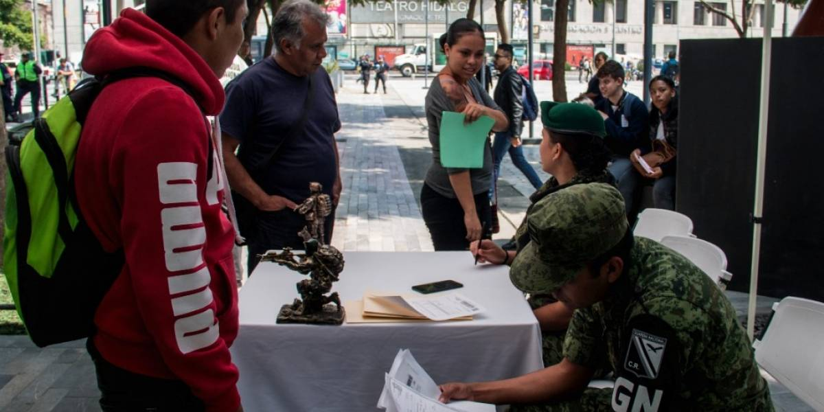 Ofrecen 19 mil pesos al mes a quien se aliste a la Guardia Nacional