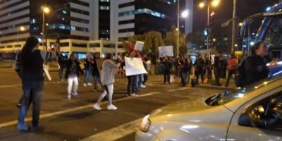 Reportan concentración en Quito