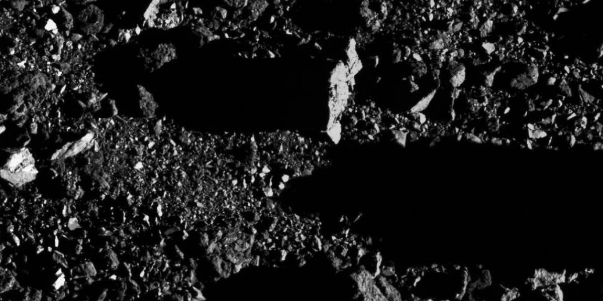 NASA divulga imagens inéditas do gigantesco asteroide Bennu