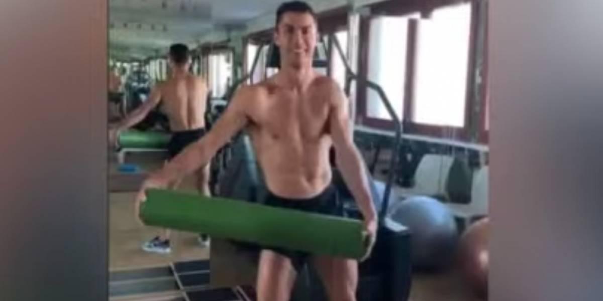 VIDEO. El boomerang de Cristiano Ronaldo que pasará a la historia