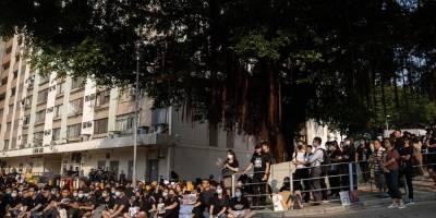 Manifestaciones estudiantiles Hong Kong