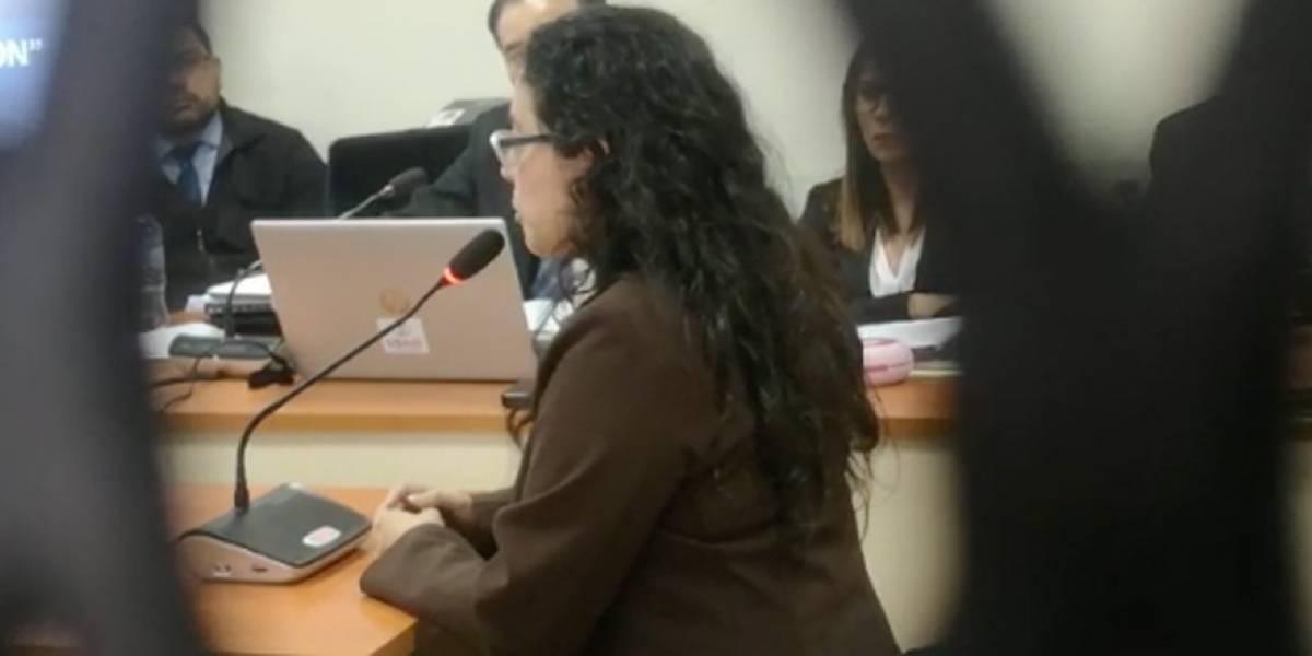"""Diana Benavides: """"Si yo no cedía, iban a utilizar el poder del MP en mi contra"""""""