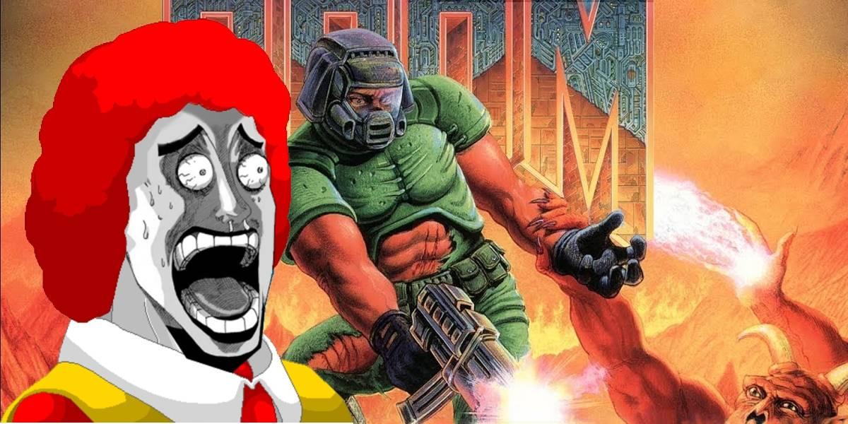 Genio instala Doom en una caja registradora de McDonald's