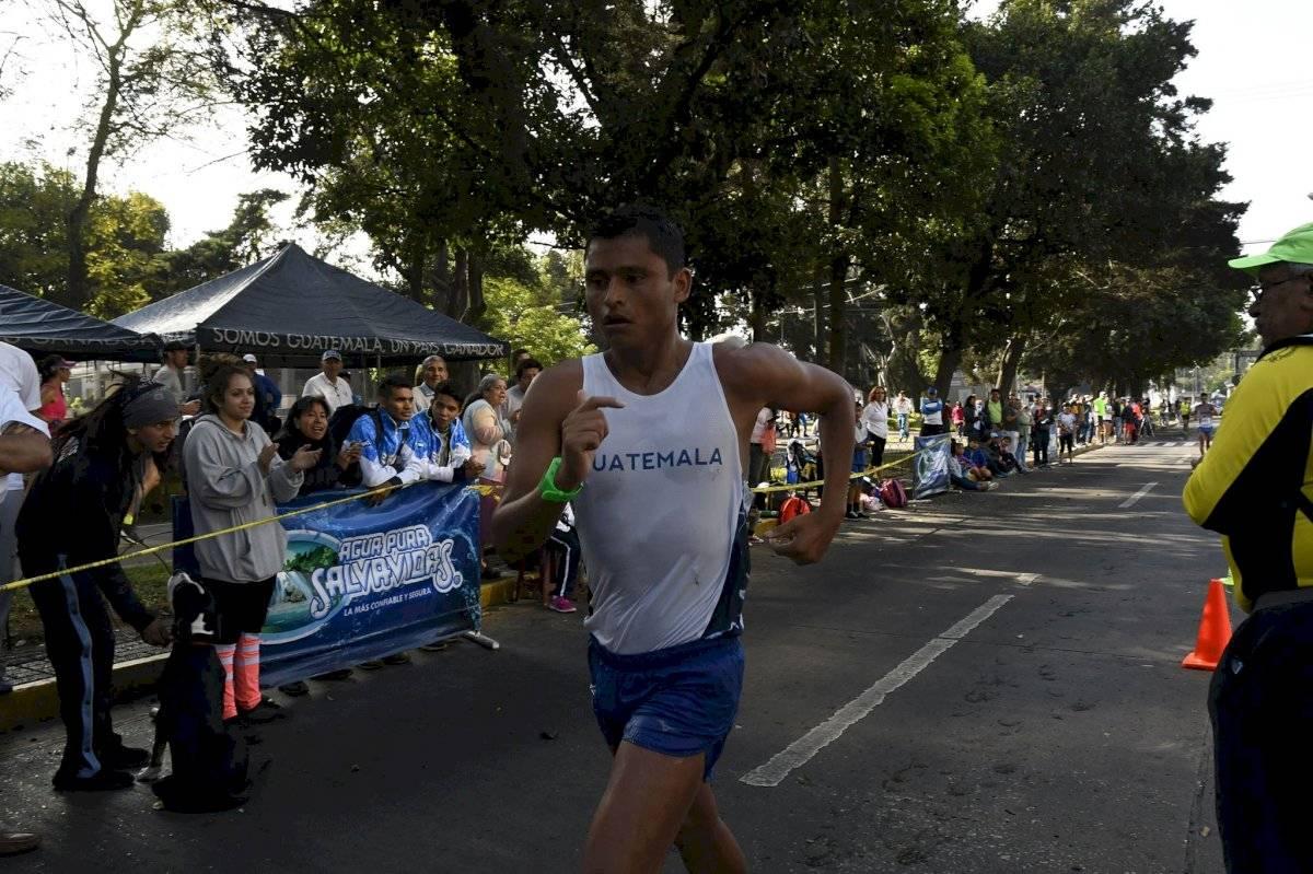Erick Barrondo participará este viernes en la marcha de los 20 kilómetros