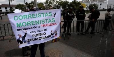 Protesta contra medidas económicas