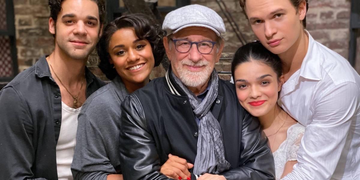 Spielberg concluye con West Side Story