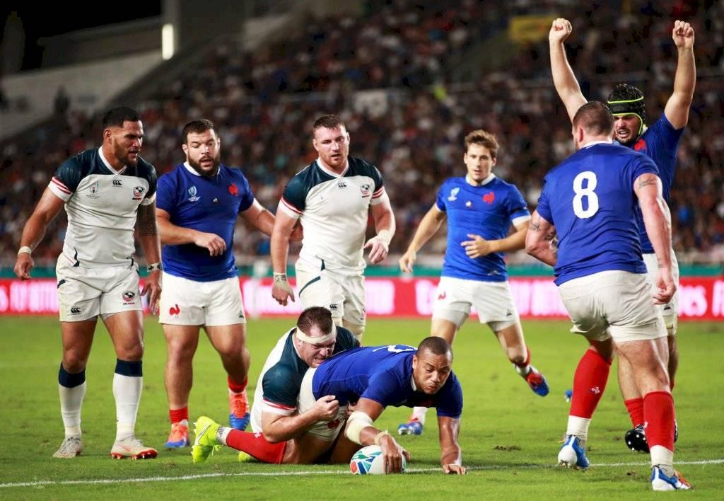 Nueva Zelanda goleó 63-0 a Canadá en el Mundial de rugby