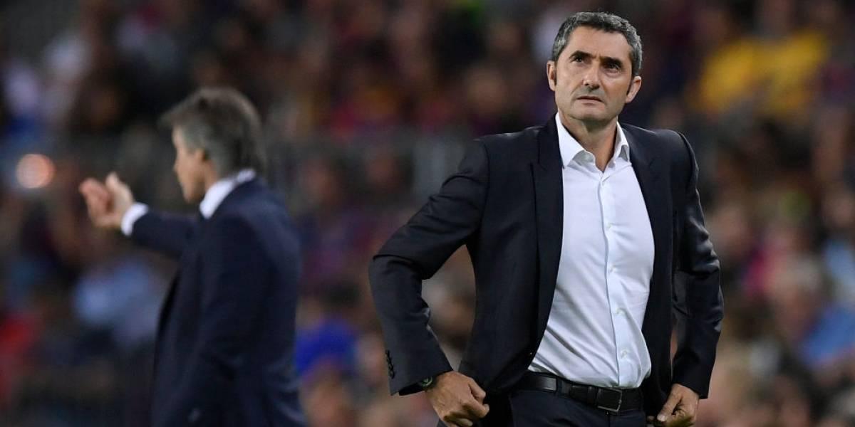 """Valverde justificó la entrada de Vidal ante el Inter de Alexis en la Champions: """"Nos faltaba revolucionar al equipo"""""""