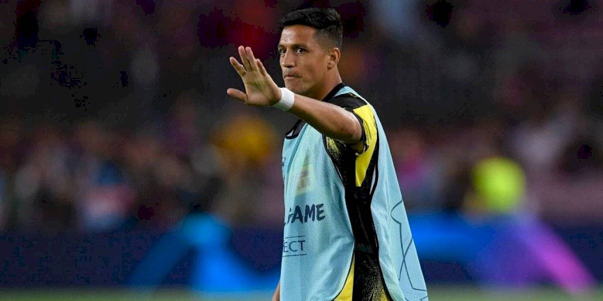 Inter de Milán esperará la recuperación de Alexis Sánchez y no traerá un reemplazo