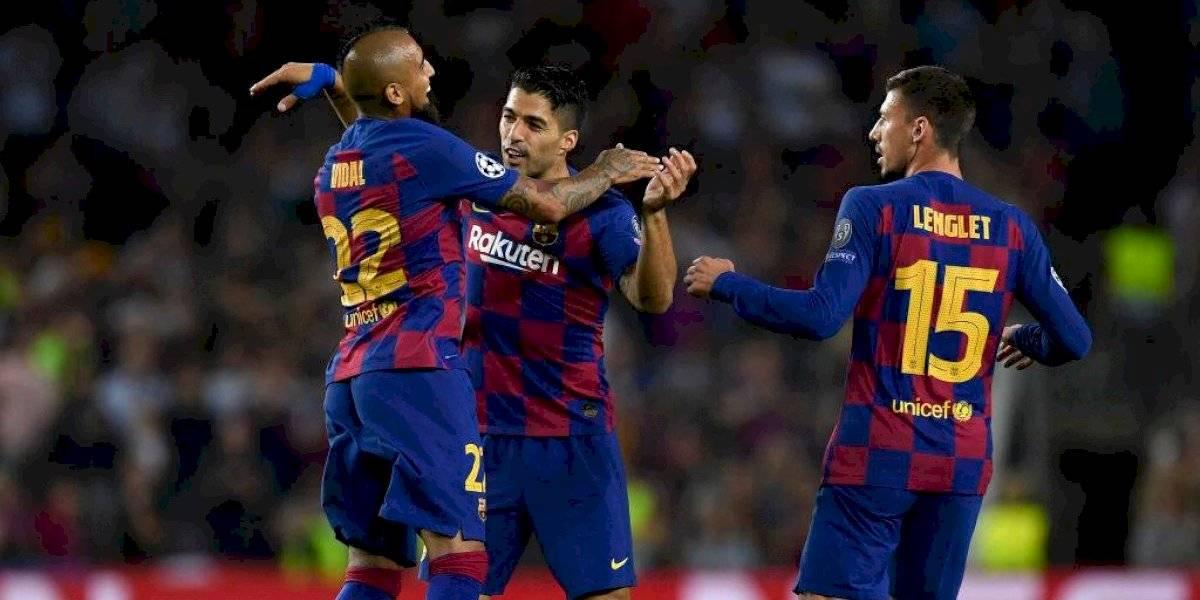 Los asistidores Alexis y Vidal brillaron en vibrante triunfo del Barcelona sobre el Inter por la Champions