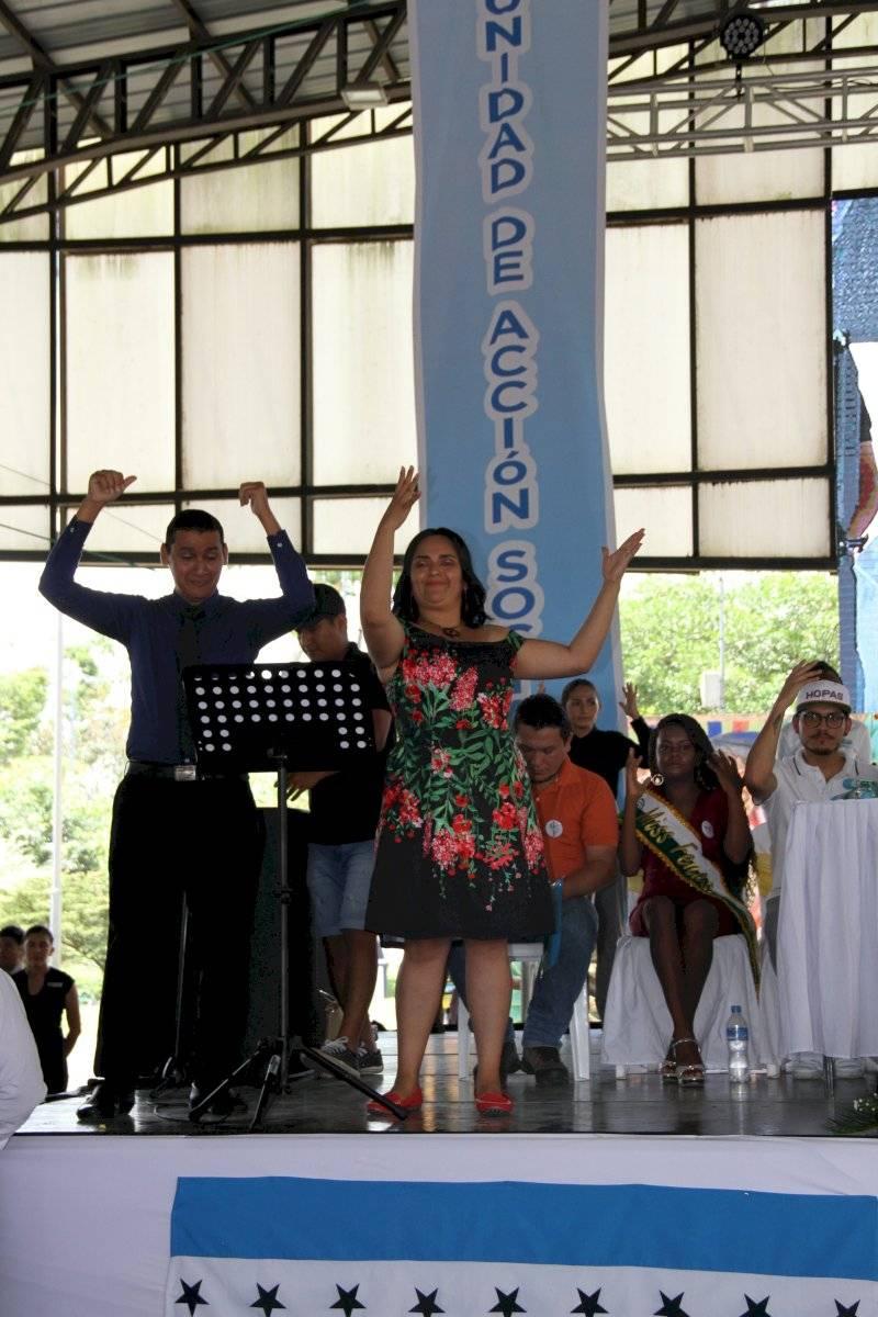 conmemoración de la Semana Internacional de Personas Sordas en Lago Agrio Cortesía