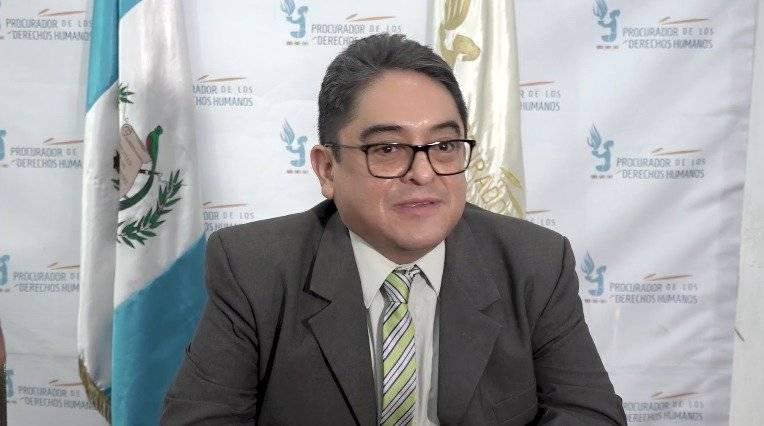 procurador de los Derechos Humanos, Jordán Rodas