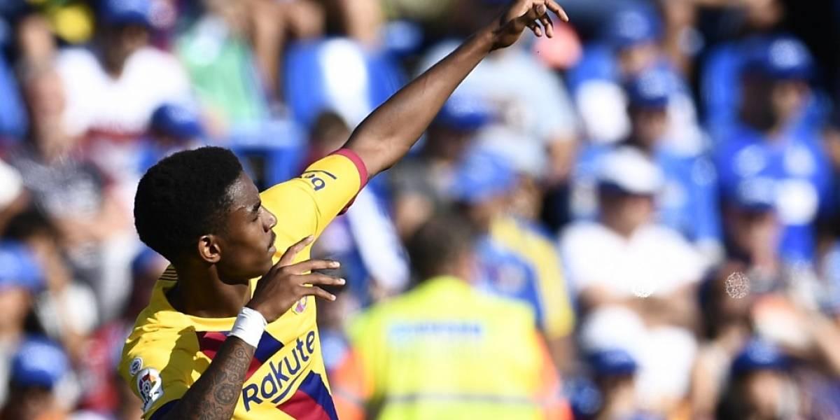 Barcelona confirma lesión de uno de sus laterales