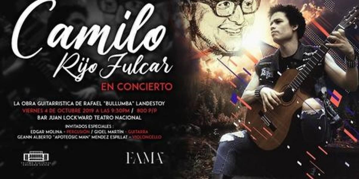 Este viernes 4, Camilo Rijo Fulcar rendirá homenaje a Bullumba Landestoy en el bar del Teatro Nacional