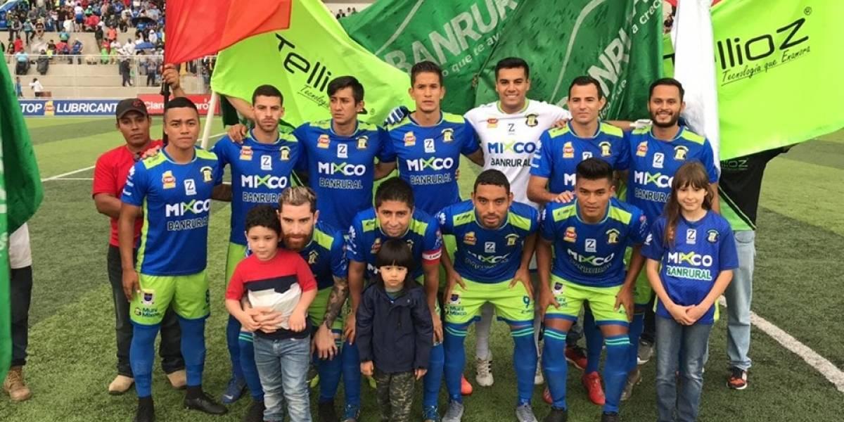 Deportivo Mixco sigue agonizando en el certamen guatemalteco