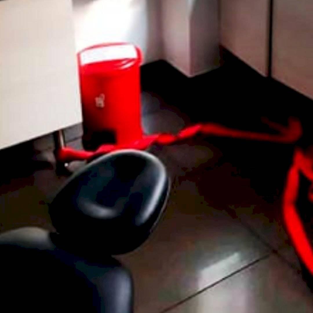 Revelan fotos de cómo estaba el consultorio del que Aída Merlano se fugó