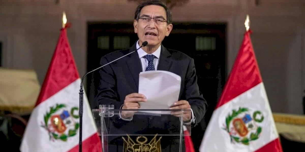 Martín Vizcarra gobernará a Perú hasta 2021