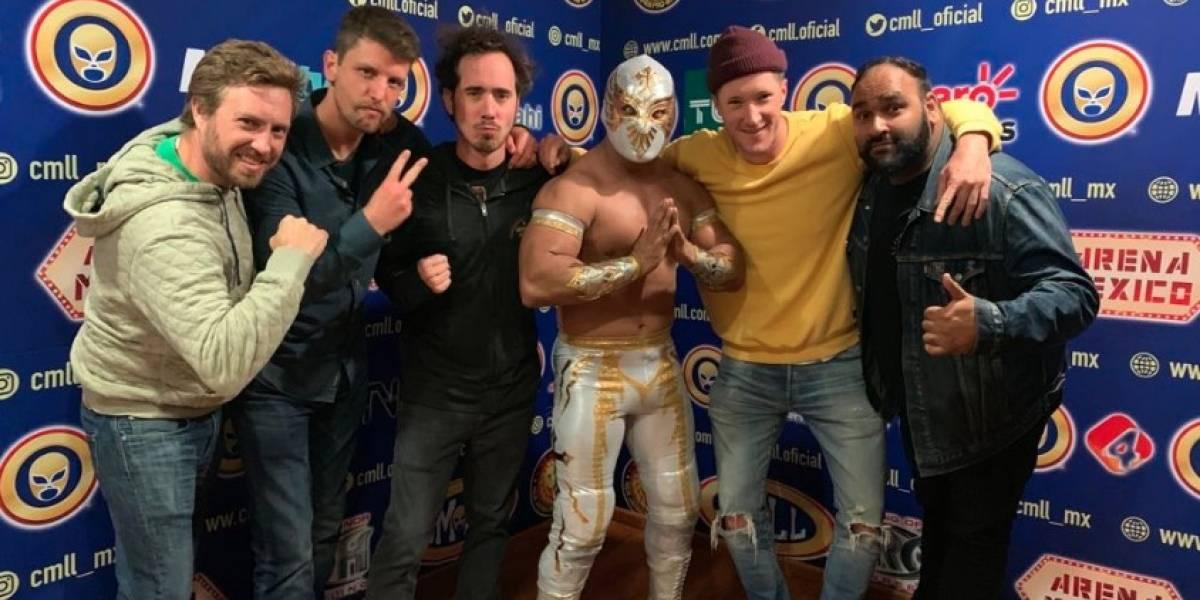 Banda The Ruse sorprendió a Carístico en la Arena México