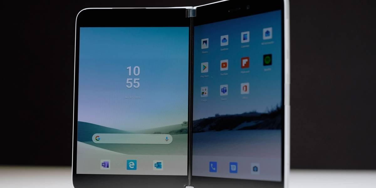 Surface Duo: Microsoft lanza un celular plegable de dos pantallas con Android