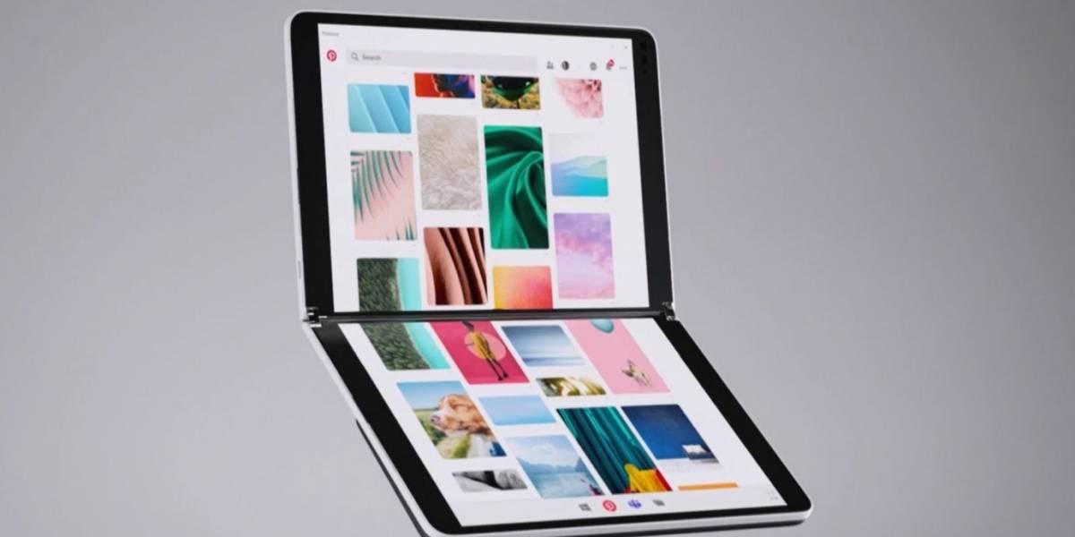 Microsoft lanza la Surface Neo, una tablet plegable con dos pantallas