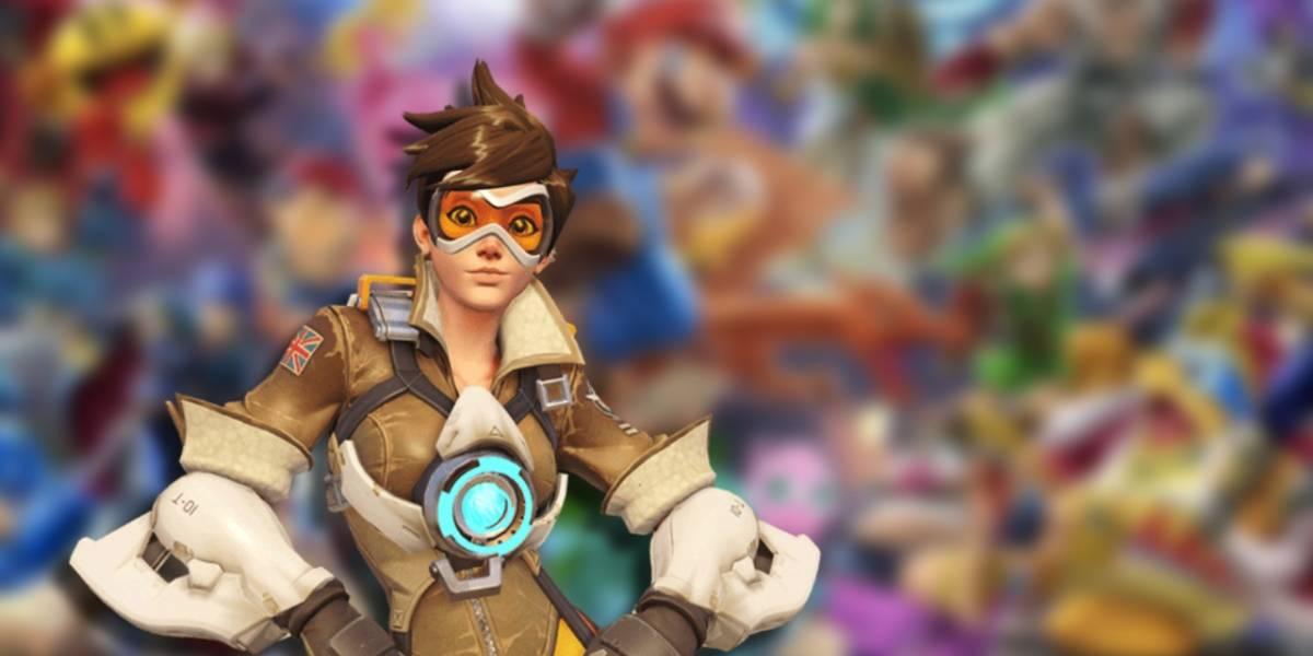 Director de Overwatch pide a Nintendo usar uno de sus personajes para Smash Ultimate